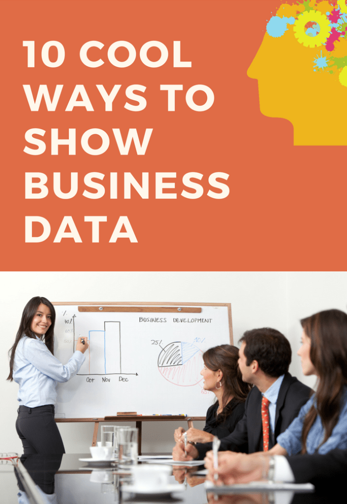 10 cool ways to show data - whitepaper