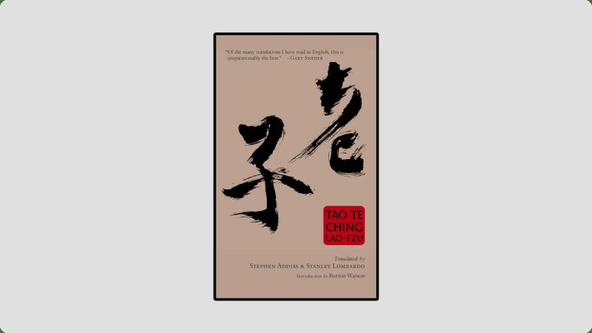 Tao Te Ching by Lao Tzu - Best Ancient Chinese Spiritual Book