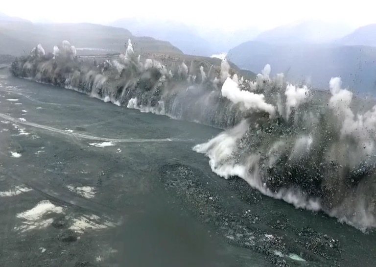 385 Meter Long Production Blast is the Most Epic Thing You ...
