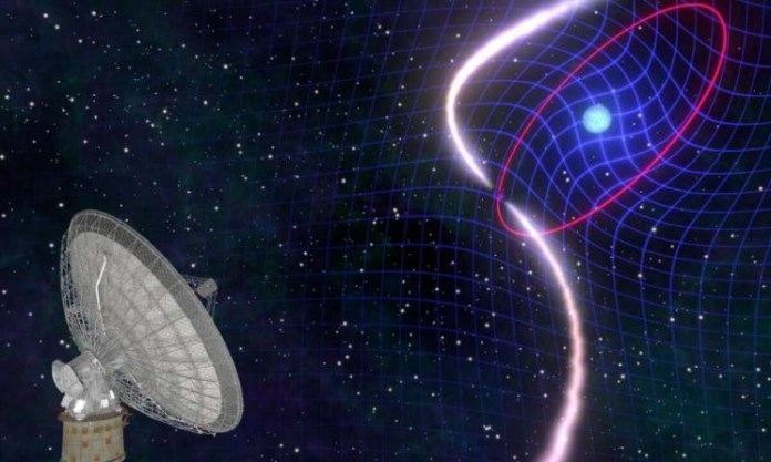 Astronomers Observe a Star Dragging Space-Time With It in a Cosmic Stellar Dance