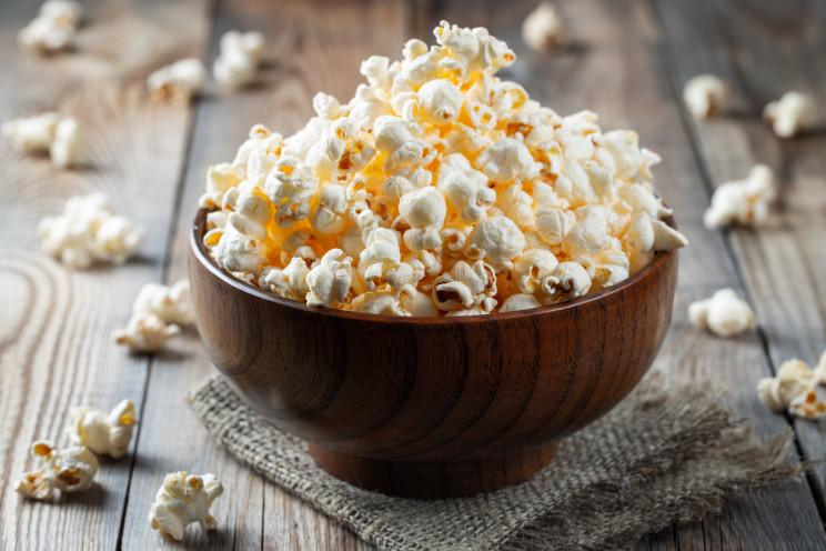internet de los sentidos, palomitas de maíz del sabor que quieras