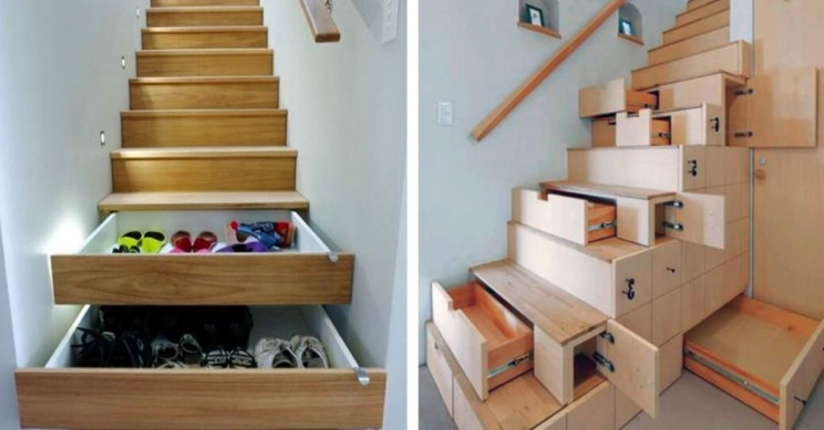 9 Super Space Saving Stair Designs To Make Your Staircase A Thing | Space Saver Staircase Plans | Stair Case | Storage | Spiral Staircases | Landing | Staircase Ideas