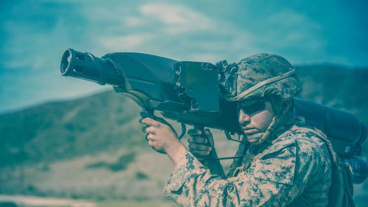 anti-drone guns skywall 100