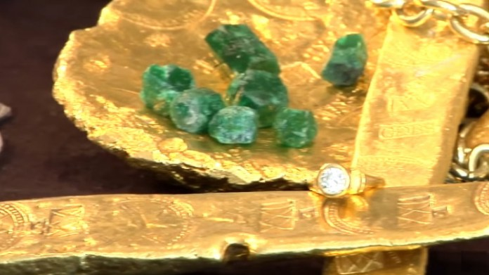 Atocha's gold and emeralds