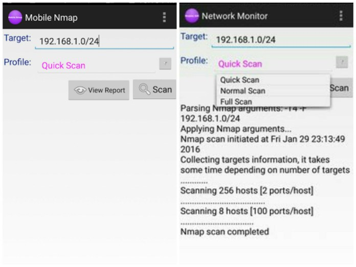 nmap best hacking apps for android