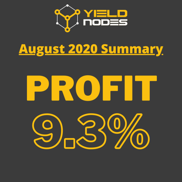 yieldnodes august profit