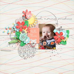 It's A Beautiful Morning by River~Rose Crystal's Layered Templates Set 5 by Crystal Livesay