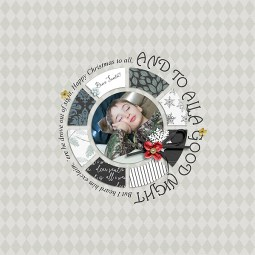 Dear Santa | Grab Bag by Sahin Designs and Anita Designs November 2015 Layout Templates by Sahin Designs
