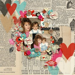 Love you more by River Rose, Studio Basic and WendyP Designs Happy Together by Crystal Livesay & Two Tiny Turtles