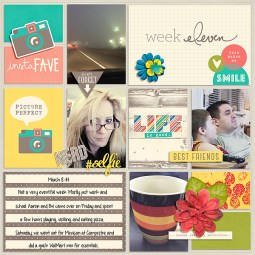 Pocket Life '15: March Collection by Traci Reed Outside the Box v2 by Gennifer Bursett Weekly Edition by One Little Bird