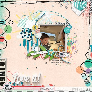 A Stacked Mess March, A Stacked Mess Frames March, and March Storyteller Collection by Just Jaimee