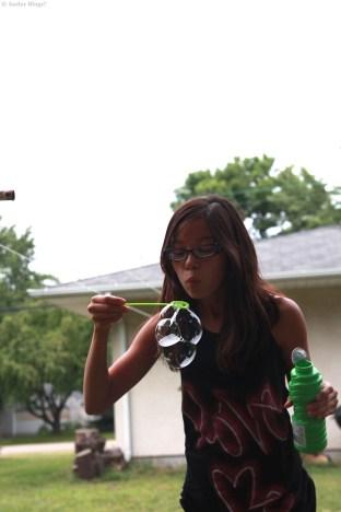 Blowing Bubbles 1