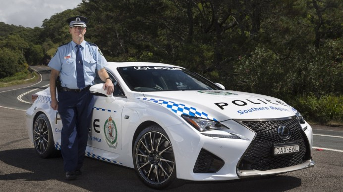 lexus-rc-f-for-nsw-police-in-australia