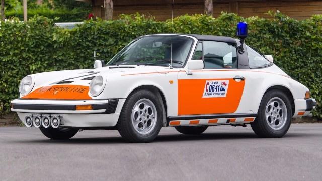 1989-porsche-911-targa-dutch-police-car
