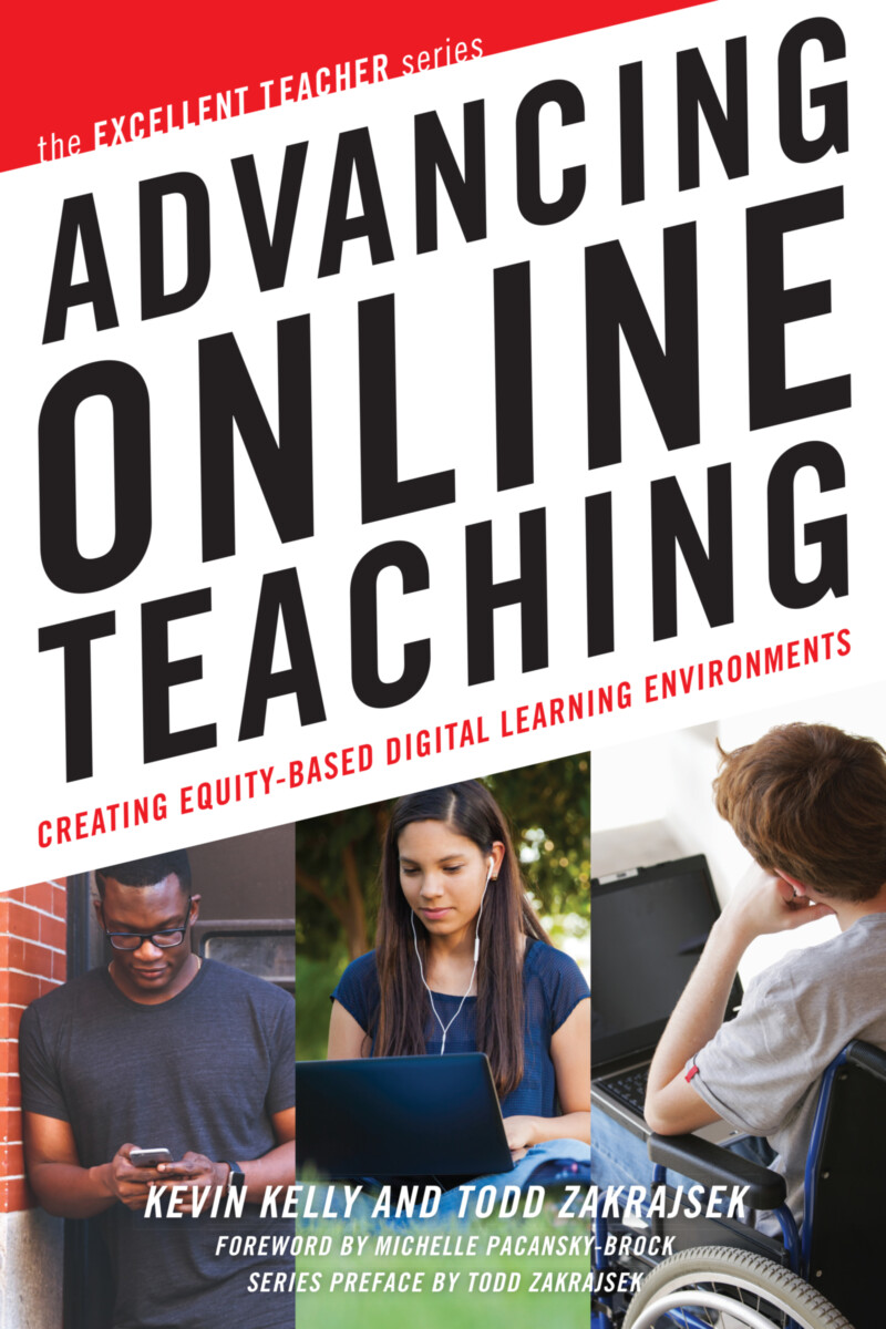 Advancing Online Teaching book cover