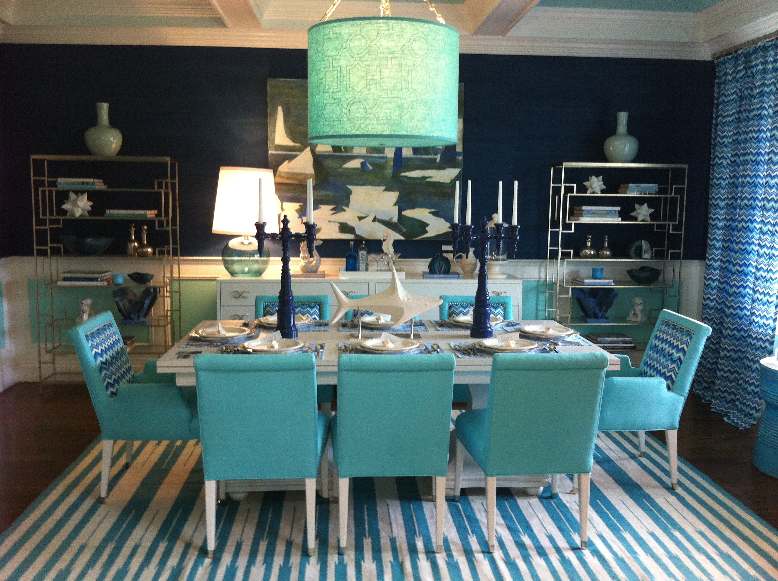 The Dining Room by Mabley Handler Interior Desing