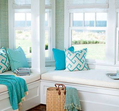 Sunbrella Fabrics, Window Seats