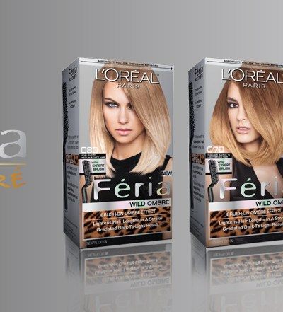 From L'OREAL Paris, Feria Wild Ombre