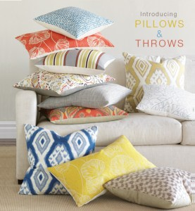 For Eastern Accents: Thom Filicia Luxury Bedding. Pillows and Throws.