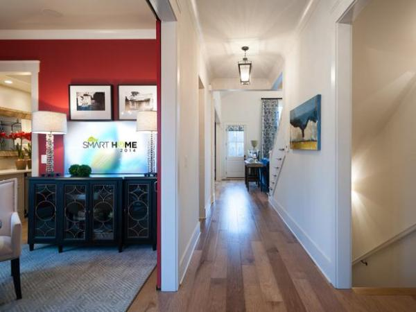 Color flow in homes