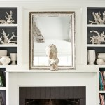 fireplace, Top 3 2016 Home Decor Trends, Double Duty Bookcase Decorating