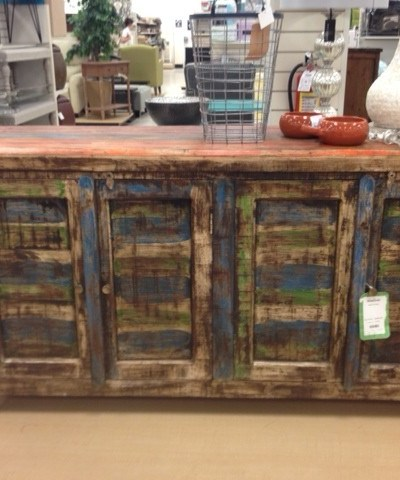 Before and After: Home Goods hack Buffet/Server
