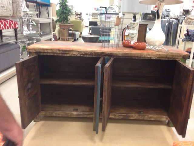 Before: Home Goods hack, Buffet/Server from Home Goods
