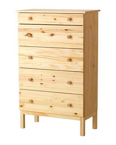 Tarva Chest from Ikea, Give new furniture an old life