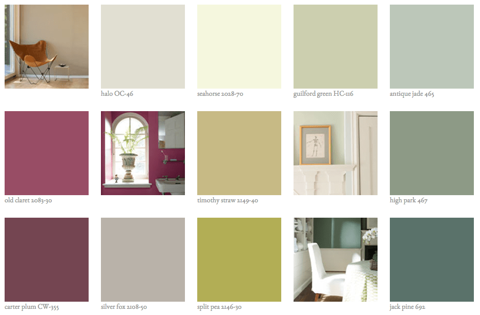 Benjamin Moore Color Trends 2015 Intentionaldesigns Com