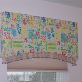 Cornice for a girls room