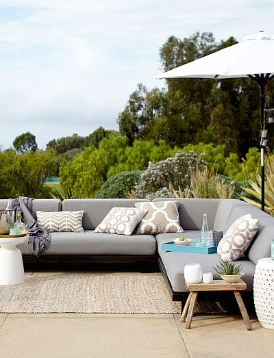A Good Buy ... Outdoor Furniture. WestElm.com Tillary Outdoor Modular Seataing
