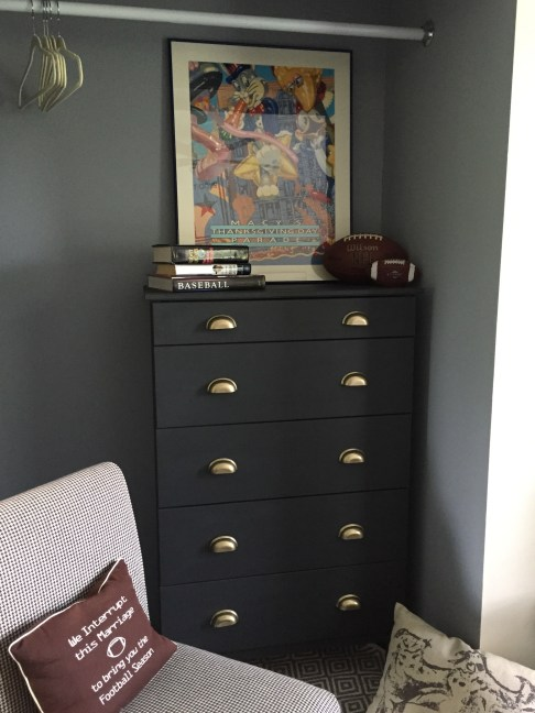 Kids Bedroom, Ikea Hack Tarva Dresser no. 2