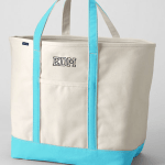 Top 10 Hostess Gifts, Lands End Extra Large Natural Open Top Canvas Tote Bag
