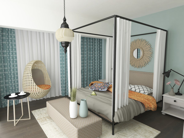 Sherwin williams cay 6772 archives intentional designs inc for Spa like bedroom designs