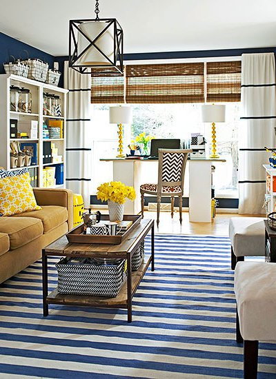 Navy Blue, 2017 Fashion Trends, my top 5 family room decorating ideas for a family friendly space