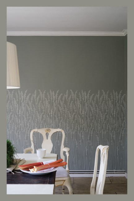Accent Wall Options, Farrow & Ball Wallpaper Feather Grass