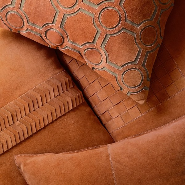Williams-Sonoma Home, Suede Origami Cut Pillow Cover