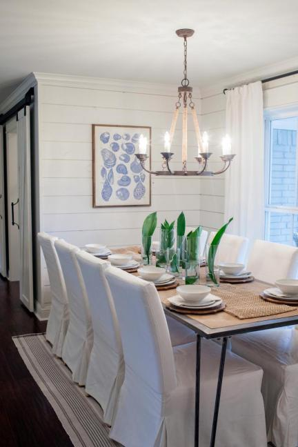 What is shiplap part 3 our shiplap wall design question for Dining room design questions