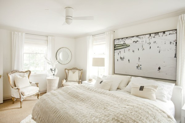 monochromatic bedroom