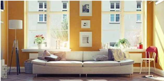 yellow interior paint colors