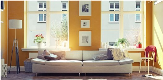 summer yellow, yellow interior paint colors
