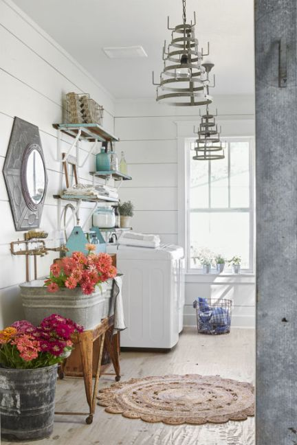 laundry rooms, shiplap