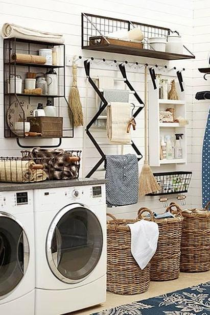 mudrooms, laundry rooms