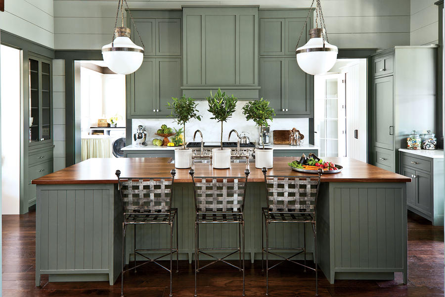 Southern Living 2013 Idea House, farmhouse kitchen