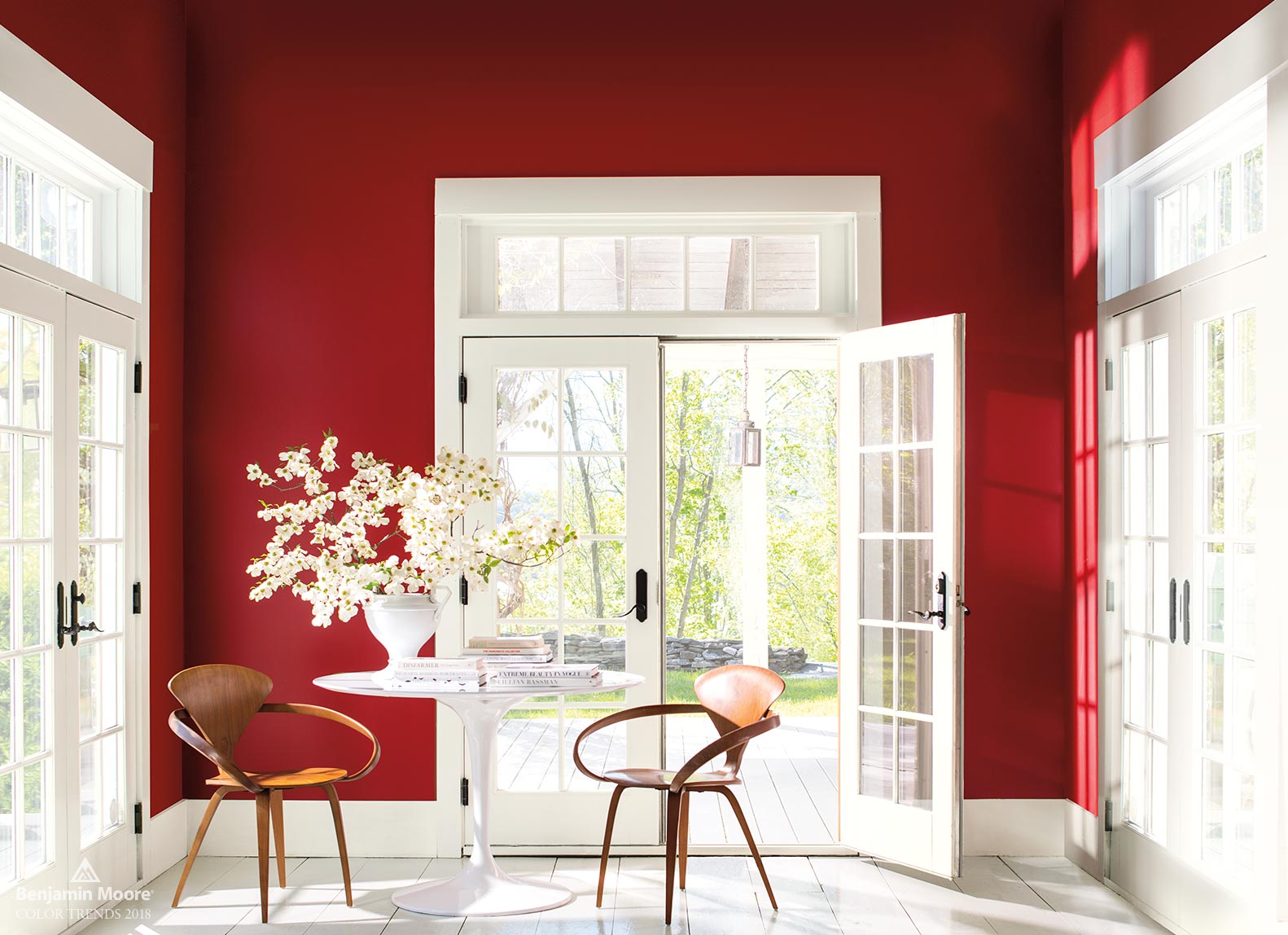 Benjamin Moore 2018 Color of the Year, Caliente AF-290