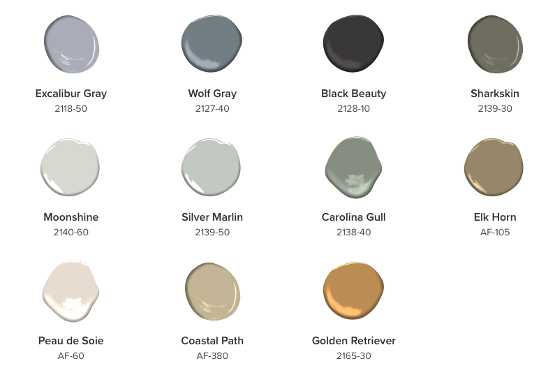 Benjamin Moore Color Trends 2018