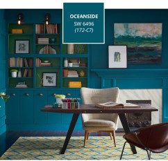 Sherwin-Williams Color of the Year 2018 Oceanside SW6496