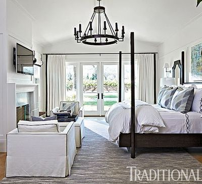 monochromatic rooms, white bedroom, decorating change