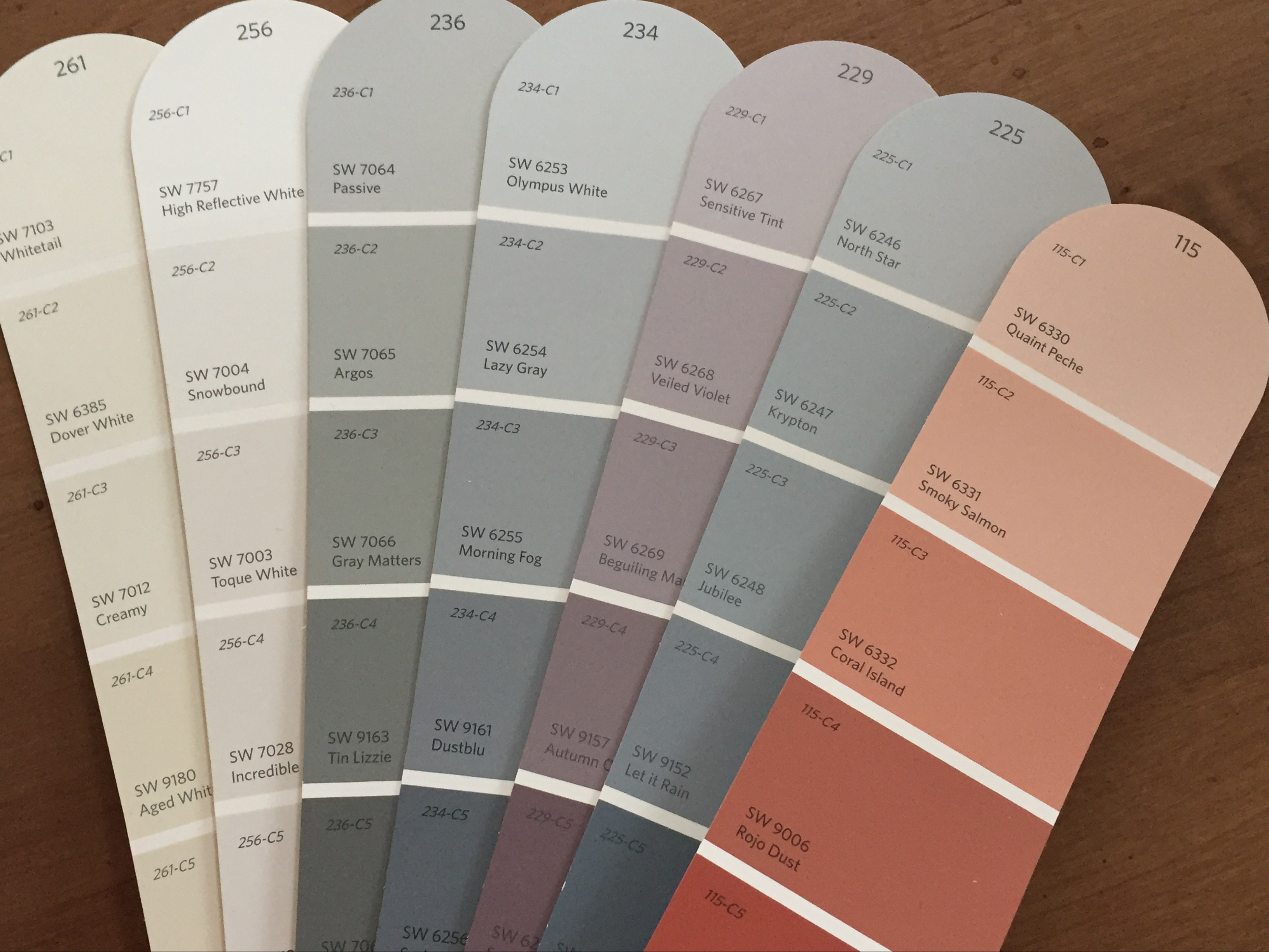 2018 paint colors