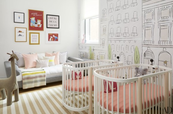 nursery, art, area rug, wall paper, summer white